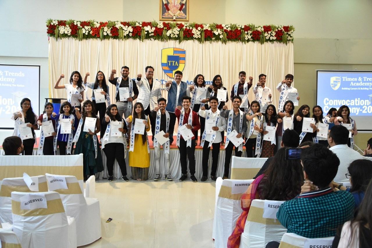 TTA Rejoices Convocation Ceremony & Celebrated its Association with Savitribai Phule University