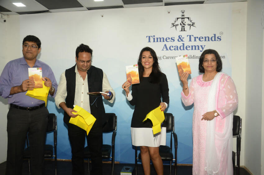Book Launch by Mrs. India World for All Readers at Times and Trends Academy (TTA)