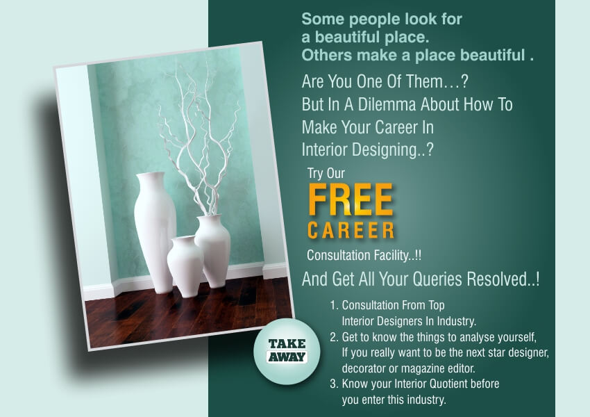 Want To Make Your Career In Interior Design Try Our Free Consultation Session Get All Doubts Cleared
