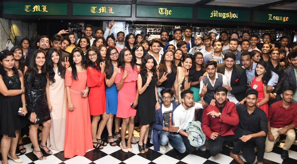TTA Deccan & Kothrud Students Have a Gala Time Celebrating Freshers' Party at Mugshot Lounge