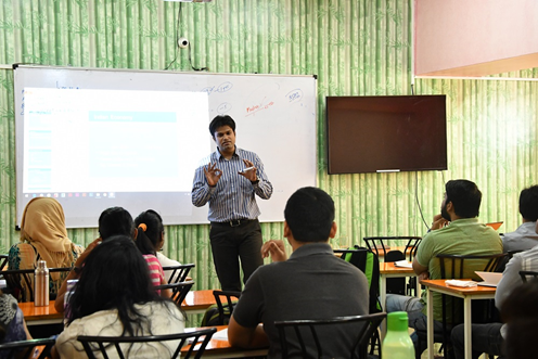 TTA Students Get Updated on GST and Taxation through a Workshop