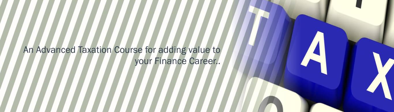 Advanced Taxation Course
